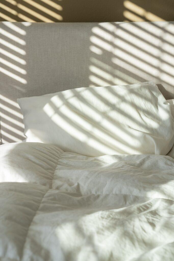 ベッドでアイデア出し