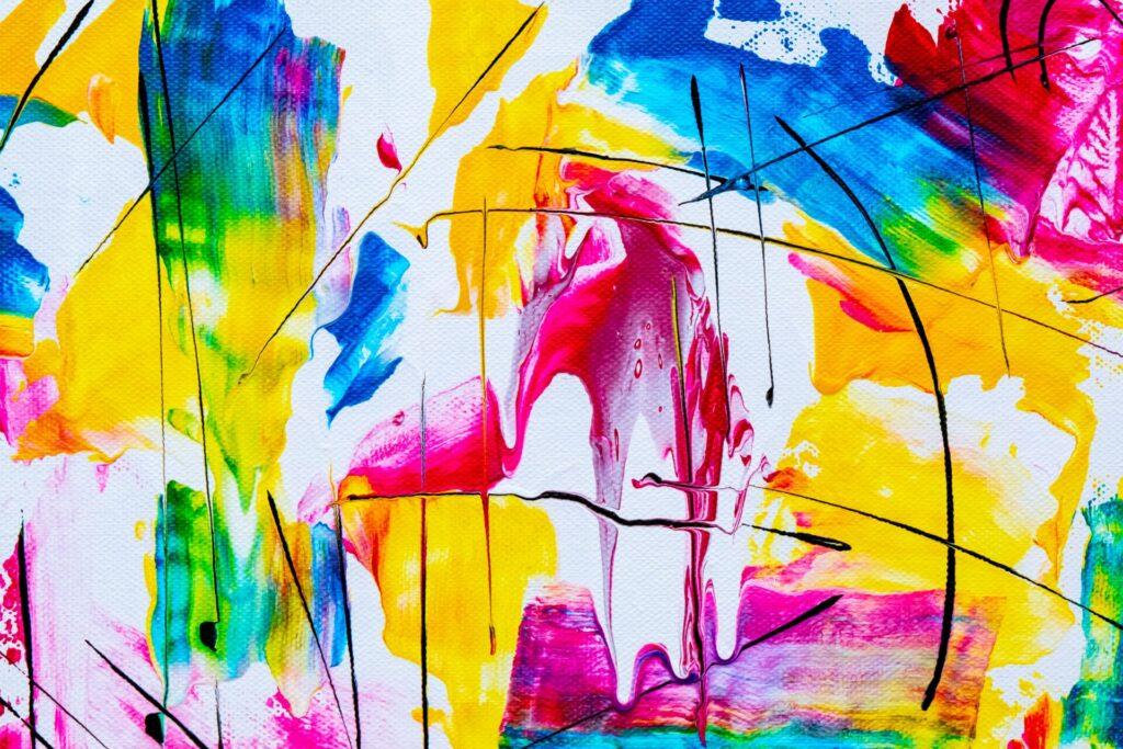 アート作品や芸術作品のイメージ図